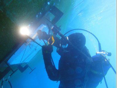 Underwater-Blanking