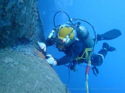 Underwater CCTV survey